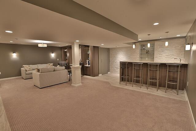 Wheatshef Basement Addition | Tilghman Builders