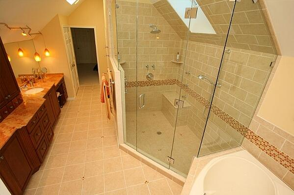 Bathroom Shower Design Ideas | Tilghman Builders in Eastern PA