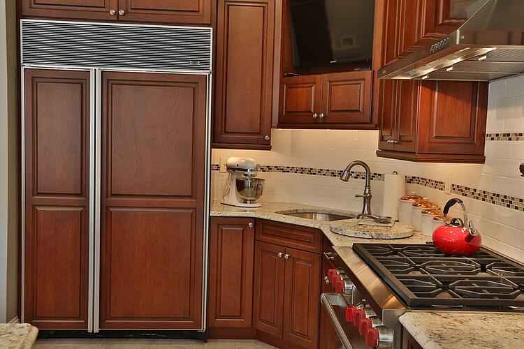 chef's kitchen remodel - ovens and stovetops