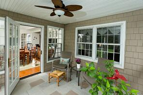 Montgomery County Screened-In Porch Addition | Tilghman Builders