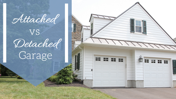 An Attached And Detached Garage, Does A Detached Garage Add Value