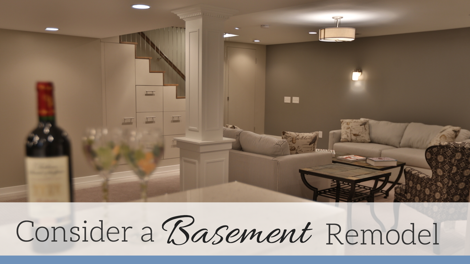 Basement Remodel Blog | Tilghman Builders