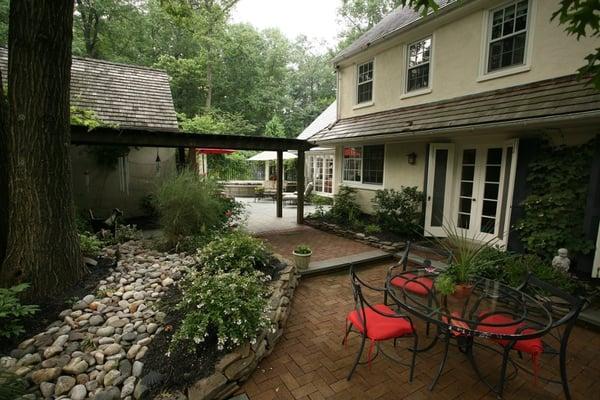 Brick patio materials