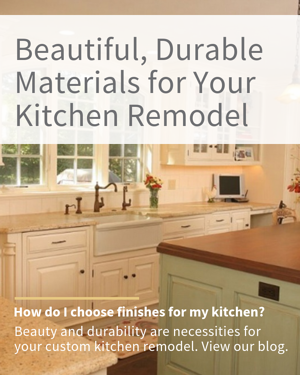 Materials for Your Custom Kitchen Remodel   Tilghman Builders