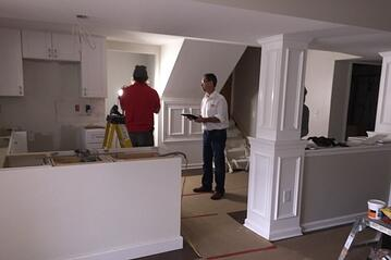 Cherry Addition During | In-law suite addition Montgomery Co PA | Tilghman Builders