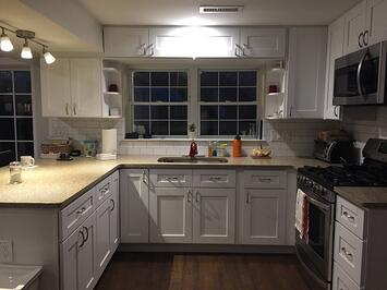 Cherry Addition Kitchen Renovation | In-law suite addition Montgomery Co PA | Tilghman Builders