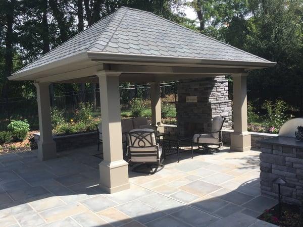 Sandstone patio materials