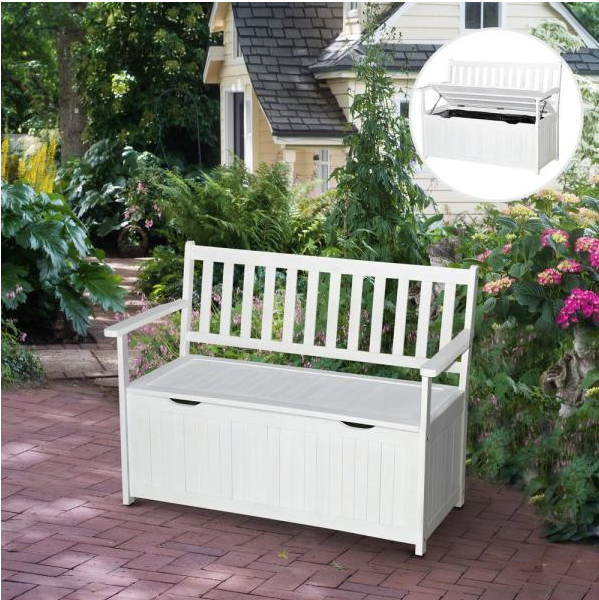 Storage Bench from Home Depot