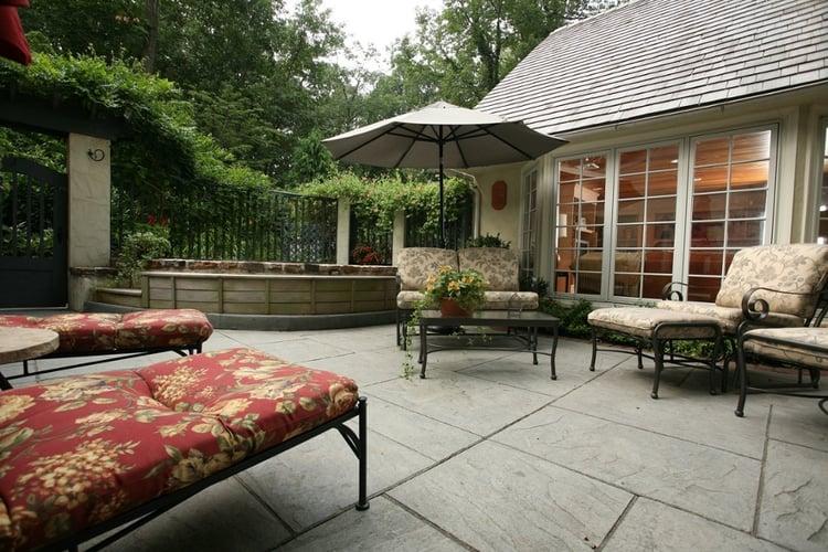 Deck vs. Patio - patio project
