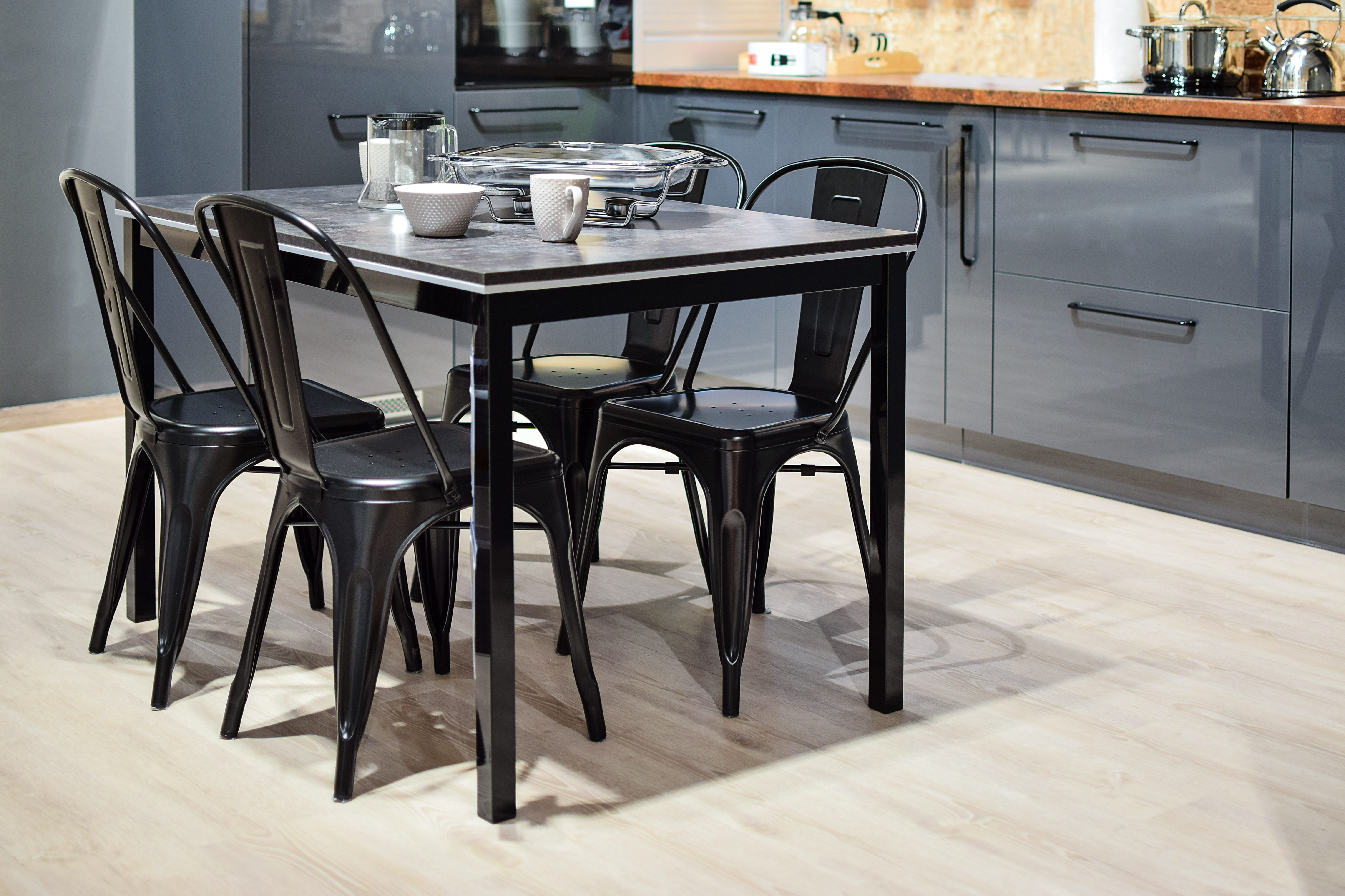Compact Dining Room Furniture for Small Kitchen Spaces
