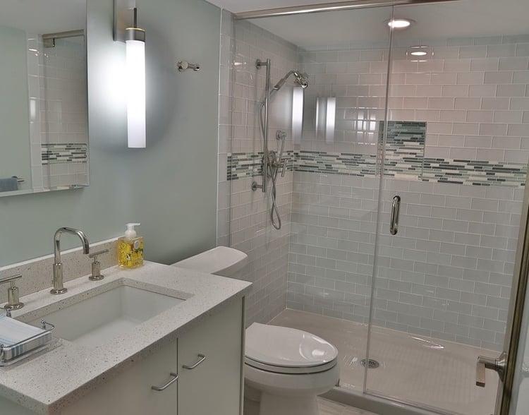 basement remodel - bathroom addition project - Csabay
