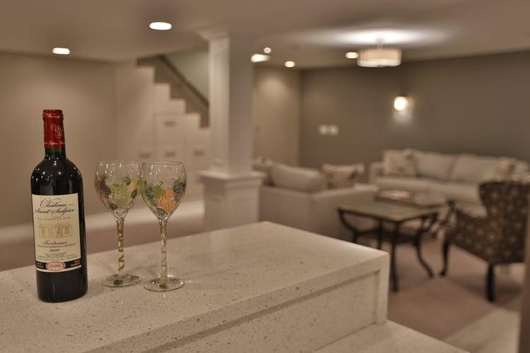 basement remodel project - Csabay - Wheathshef