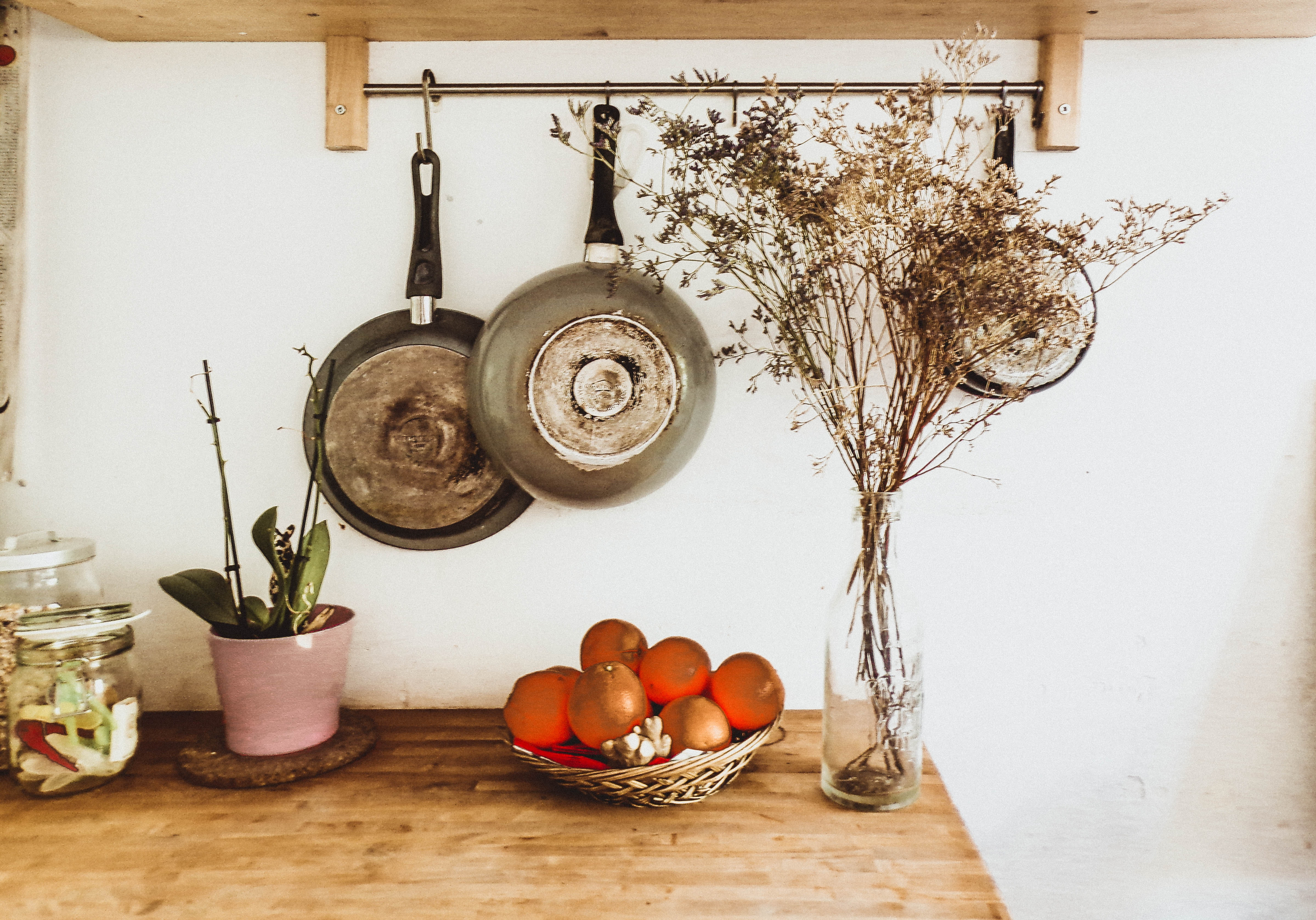 Wall Storage for Pots and Pans