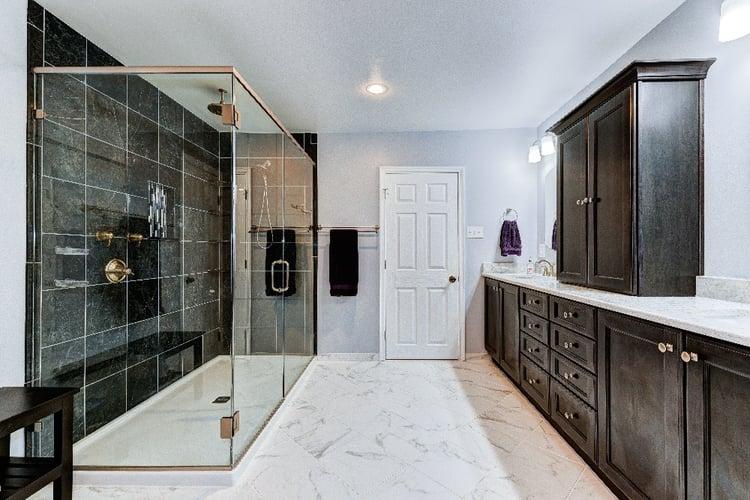 master bathroom remodel