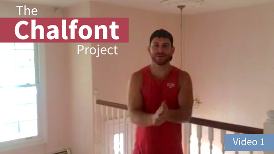 VLOG The Chalfont Project Part 1: Total Interior Remodel + In-Law Suite Tour
