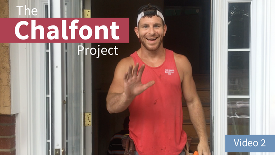 VLOG The Chalfont Project Part 2: Total Interior Remodel + In-Law Suite Tour