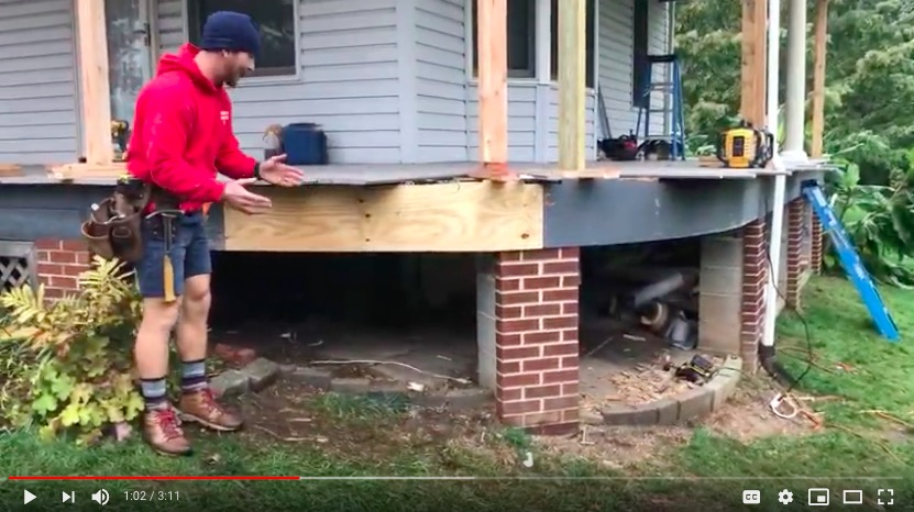Video Journal: Hatboro Porch Renovation Project