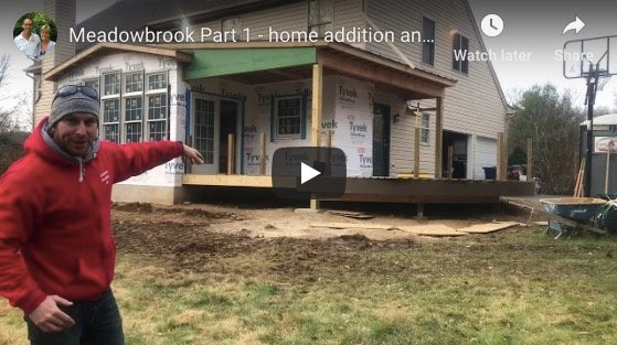 Vlog: Meadowbrook Home Addition and Backyard Getaway Part 1